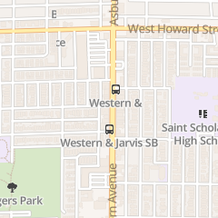 Directions for Golden Nails in Chicago, IL 7426 N Western Ave