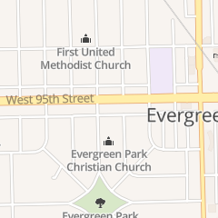 Directions for Wonder Nails in Evergreen Park, IL 3341 W 95th St