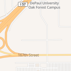 Directions for Fleet Care in Oak Forest, IL 4234 166th St