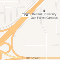 Directions for Cubesmart Self Storage in Oak Forest, IL 4325 Frontage Rd