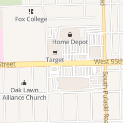 Directions for Target in Oak Lawn, IL 4120 W 95th St
