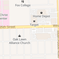 Directions for European Foot & Ankle Clinic in Oak Lawn, IL 4201 W 95Th St