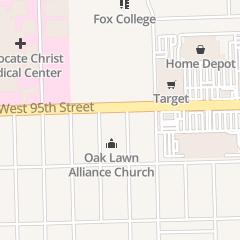 Directions for Petty Bielik & Burke Orthodontics in Oak Lawn, IL 4233 W 95th St