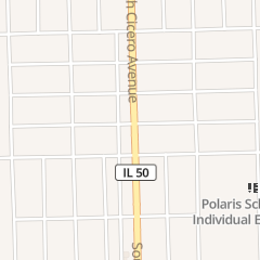 Directions for City Nails in Oak Lawn, IL 10634 S Cicero Ave