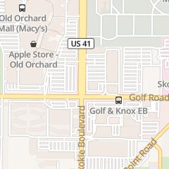 Directions for Ulta in Skokie, IL 9635 Skokie Blvd
