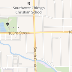 Directions for Foxy Nail in Oak Lawn, IL 10317 Central Ave