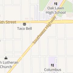 Directions for Gentle Nails in Oak Lawn, IL 9544 Southwest Hwy