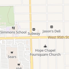 Directions for Tracy Nail Salon in Oak Lawn, IL 6334 W 95th St
