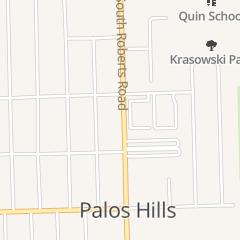 Directions for Ekonomou John in Palos Hills, IL 10546 S Roberts Rd