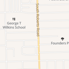 Directions for Dimah Beauty Salon in Justice, IL 8102 S Roberts Rd