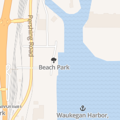 Directions for Dockside Dog in Waukegan, IL 46 E Madison St