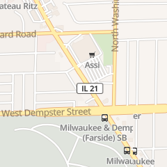 Directions for California Nails in Niles, IL 8860 N Milwaukee Ave