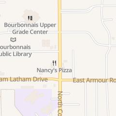 Directions for Nancy's Pizza in Bourbonnais, IL 513 N Convent St