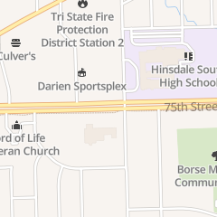 Directions for Accelerated Rehabilitation Centers in Willowbrook, IL 329 75th St