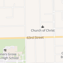 Directions for Christian Worship Center in Downers Grove, IL 1330 63Rd St