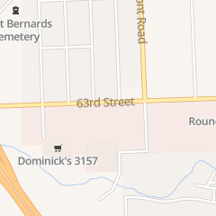 Directions for Dominicks in Woodridge, IL 2363 63Rd St