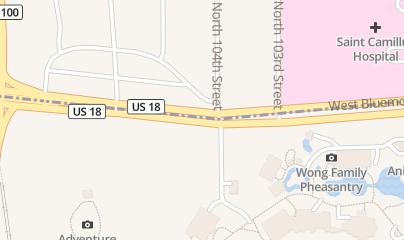 Directions for HPR Treatment Centers in Milwaukee, WI 10425 W Bluemound Road
