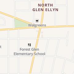 Directions for Glen Ellyn Chamber of Commerce in Glen Ellyn, IL 810 N Main St