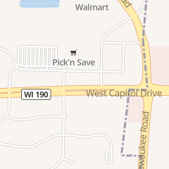 Directions for Starbucks Coffee in Pewaukee, WI 1392 Capitol Dr