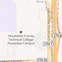 Directions for Waukesha County Technical College in Pewaukee, WI 800 Main St