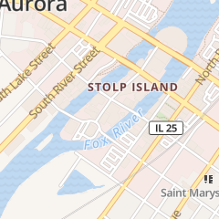 Directions for Christian Science Reading Room in Aurora, IL 34 S Stolp Ave