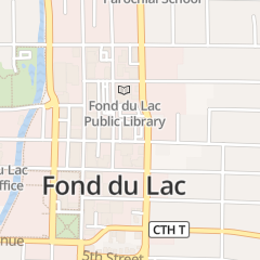 Directions for Fox Valley Savings Bank in Fond Du Lac, WI 51 E 1st St