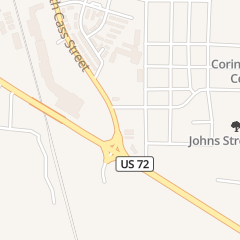 Directions for Jt Hotwing King in Corinth, MS 1208 S Cass St