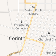 Directions for Smith in Corinth, MS 603 N Fillmore St