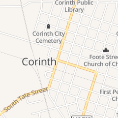Directions for Market Square in Corinth, MS 513 Cruise St