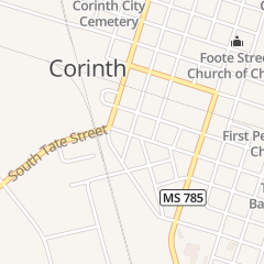 Directions for Cindy's Place in Corinth, MS 603 Tate St