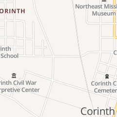 Directions for Refreshments Inc in Corinth, MS 101 W Linden St