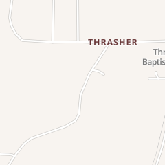 Directions for Thrasher Quick Foods in Booneville, MS 160 County Road 1040