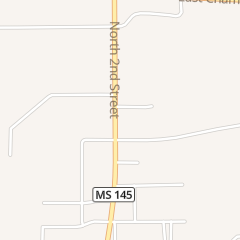 Directions for Popeyes Chicken in Booneville, MS 1118 N 2nd St
