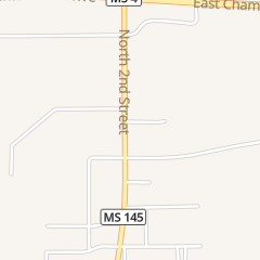 Directions for Hardee's Restaurant in Booneville, MS 1200 N 2nd St