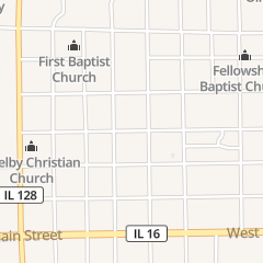 Directions for 1st Federal of Central Illinois in Shelbyville, IL