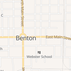 Directions for Karla's Place in Benton, IL 209 E Main St