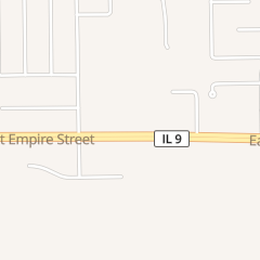 Directions for Dr. Lucas Armstrong M.D. in Bloomington, IL 2502 e Empire St