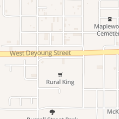 Directions for Lucy's Place in Marion, IL 1303 Enterprise Way
