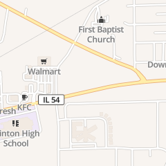 Directions for Three Star Family Restaurant & Lounge in Clinton, IL 1161 State Route 54 W