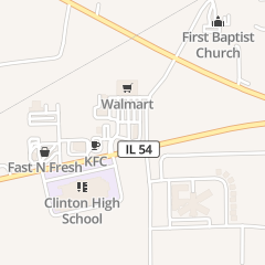 Directions for Mcdonald's Restaurant in Clinton, IL 1201 State Route 54 W