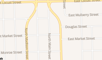 Directions for Daddios in Bloomington, IL 527 N Main St