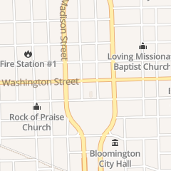 Directions for Boo Boo's Dawghouse in Bloomington, IL 116 W Washington St