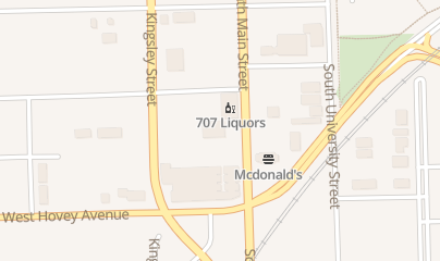 Directions for 707 Food and Liquors in Normal, IL 707 S Main St Ste 1