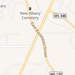 Directions for MI Pueblo in New Albany, MS 118 State Highway 15 N
