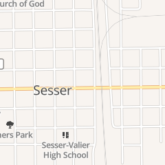Directions for Iron Horse in Sesser, IL 206 E Franklin St