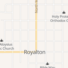 Directions for Kritters in Royalton, IL 208 S Main St