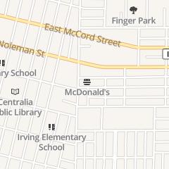 Directions for McDonald's Restaurant in Centralia, IL 810 E Broadway