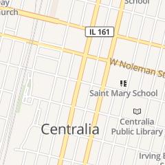 Directions for W J B D in Centralia, IL 100 S Poplar St