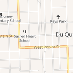Directions for S & L B's Place in Du Quoin, IL 29 W Main St