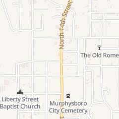 Directions for Da-Nite Tavern in Murphysboro, IL 817 N 14th St